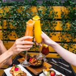 Cheers to a brunch filled summer of freshfruit mimosas