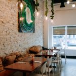Interiors at Monki Bistro in inglewood